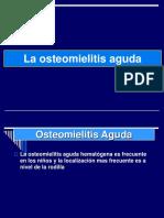 1- Osteomielitis Agudas
