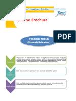 Testing Tools(M+S)