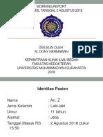 dony COR + CF Ulna sinistra MR 2 8 2018