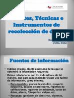 02 Fuentes Tecnicas e Instrumentos Para La Recoleccion Datos