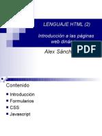 HTML Avanzado
