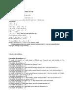 Criterii de Divizibilitate 3
