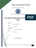 Examen Extraoral en Protesis Fija