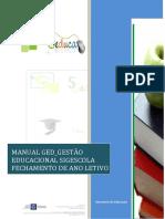 Manual Fechamento de Ano Letivo97255869264632