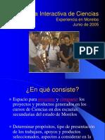 Feria Interactiva de Ciencias. en El Estado de Morelos