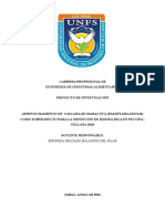 Proyecto Pectina f Yh 2018