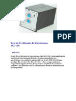 Relé de Verificação de Sincronismo SCX-120