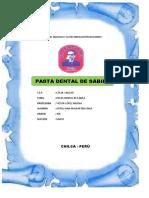 Pasta Dental de Sabila