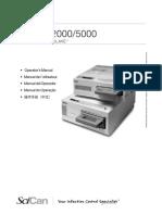 SciCan Statim 2000 - Manual Operador