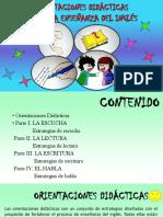 Orientaciones Didácticas Para La Enseñanza Del Inglés - Cartilla