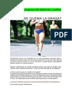 Post Para Pagina de Deporte y Salud
