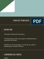 Derecho Tributario (1)