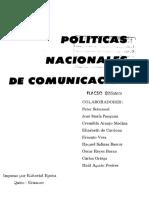 Políticas nacionales de comunicación