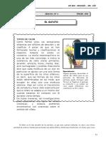 III Bim - 3er. año - Guía 6 - El olfato.doc