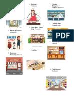 Ingles Comidas y Tiendas
