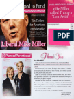 Planned Parenthood Thanks Mike Miller