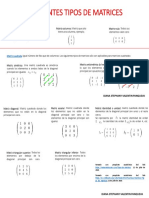 Diferentes Tipos de Matrices