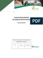 Plan de Restauración Del Bosque Nativo