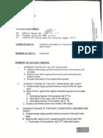 LaVoy Finicum Autopsy Report, Jan 28, 2016