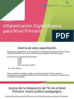 Alfabetización Digital Encuentro 1
