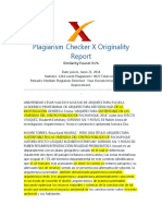 Plagiarism - Report