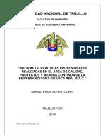 Informe de Prácticas GRÁFICA REAL v 1.0