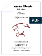 draft choir handbook - 2018-2019