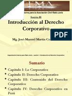 Martin Introduccic3b3n Al Derecho Corporativo
