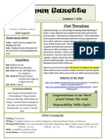 10 1 Newsletter