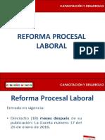 Ley Procesal Laboral
