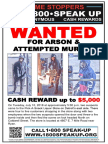 Arson and Attempted Murder Detroit Poster