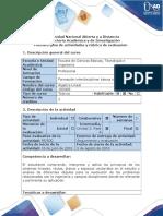 Rúbrica de Evaluación Fases 4 - Sistemas Lineales, Rectas, Planos y Espacios Vectoriales