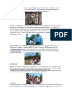 Etnicas de Centroamerica