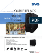 Ficha Tecnica Nobreak Sinus Double II Black 20 KVA SMS