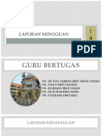 LAPORAN MINGGUAN m14