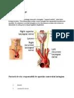 Cancerul laringian referat