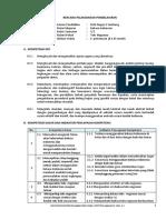 RPP Negosiasi 3 (3.3 dan 4.3)