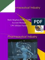 Pharmaceutical Industry-UW 2005[1]Shigihara