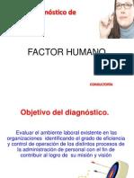 Diagnostico Del Factor Humano
