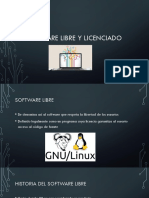 Software Libre y Licenciado
