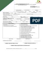 Solicitud de Inscripcion Alumnos Enero 2017