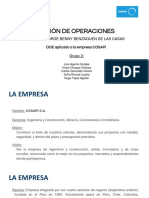 Cosapi s.a. - Gestión de Operaciones