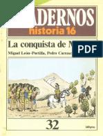 Cuadernos de Historia 16 032 La conquista de Mexico 1985.pdf