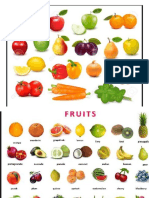 Frutas Ingles