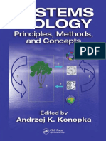 Preview of Systems Biology Principles Methods and Concepts