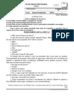 Prova.pb.Linguaportuguesa.2ano.tarde