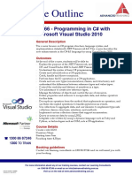 Programming in C Sharp With Microsoft Visual Studio 2010