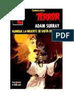 Surray Adam - Seleccion Terror 381 - Aunque La Muerte Se Vista de Seda