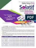 Katalog Solatif SMA 2018