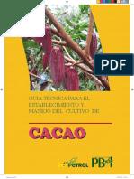 Guía Técnica Para El Manejo Del Cultivo de Cacao